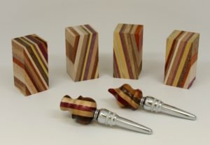 Laminated Wine Stopper Turning Blanks